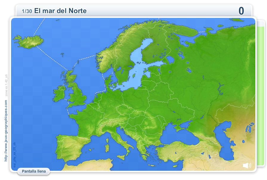 Mapa Mudo Relieve Europa.Juego Recordad Que Entre Los Contenidos De La Unidad Esta