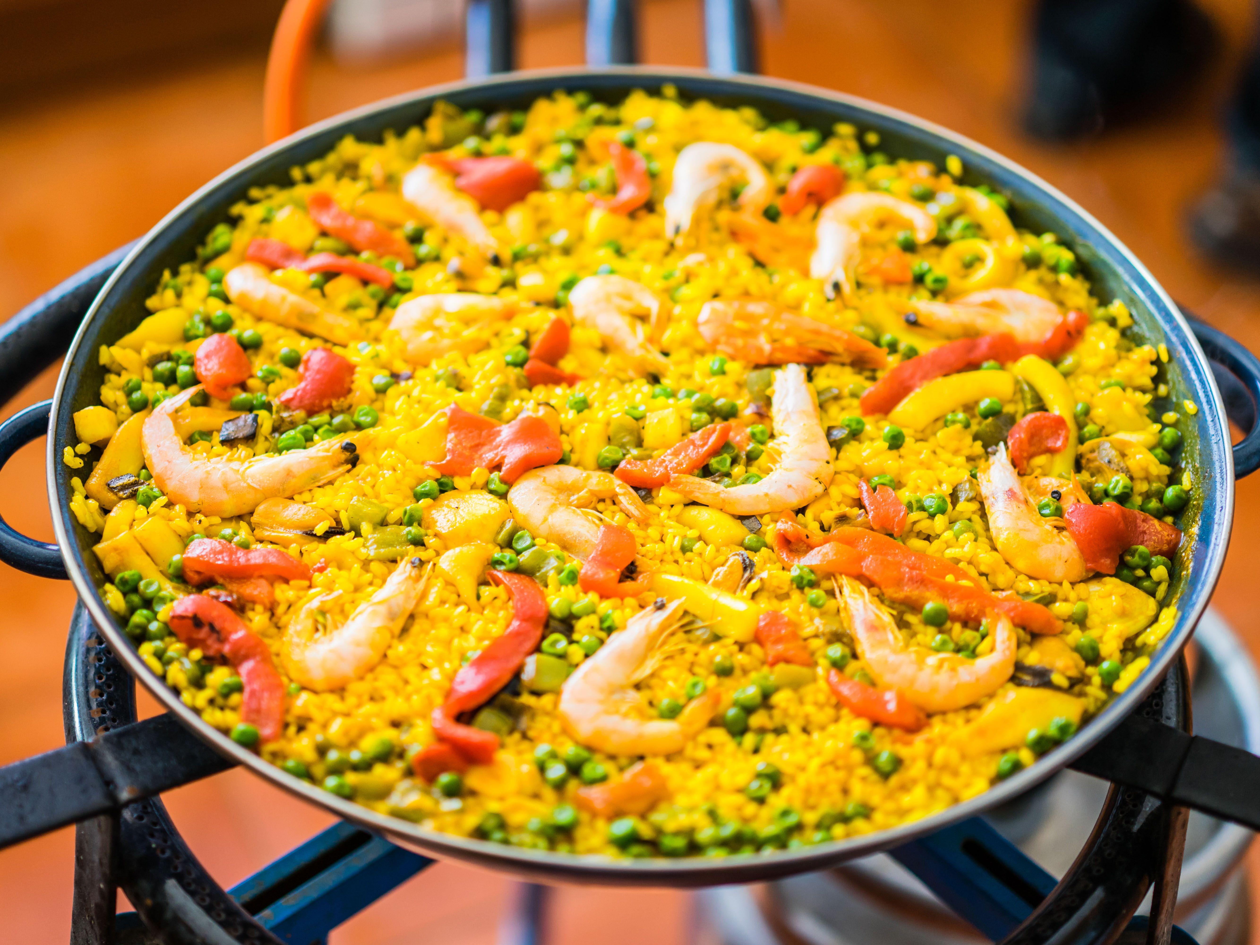 La paella est la sp cialit espagnole la plus connue - Recette de la paella espagnole ...