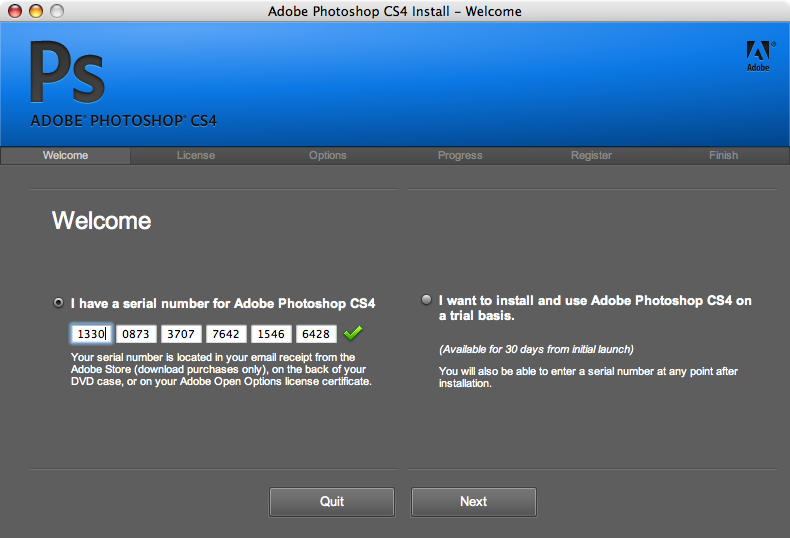 adobe photoshop cs3 creative suite serial number