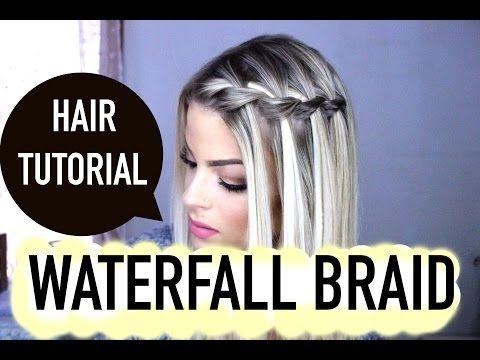 6 Fast And Easy Braid Ideas Best Beginner Braid Hairstyles Cool Braid Hairstyles Easy Braids Waterfall Braid Tutorial