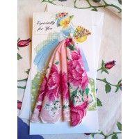 Garden Girl Hanky Card 1202 is part of Rose garden Girl -