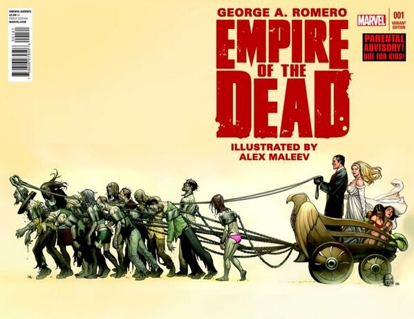 Empire of the Dead #1 Variant