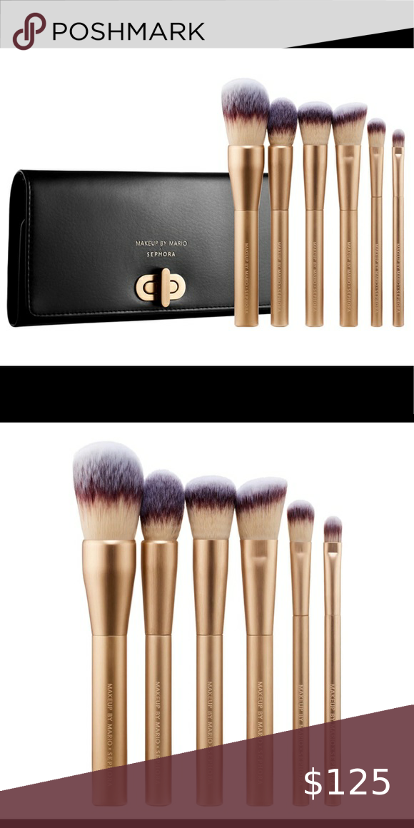 REDUCED💥NIB Makeup By Mario face brush set in 2020 Face