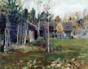 The Barns - Sergei Arsenevich Vinogradov - The Athenaeum