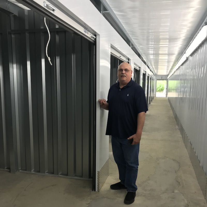 All montgomery self storage units are equipped with video