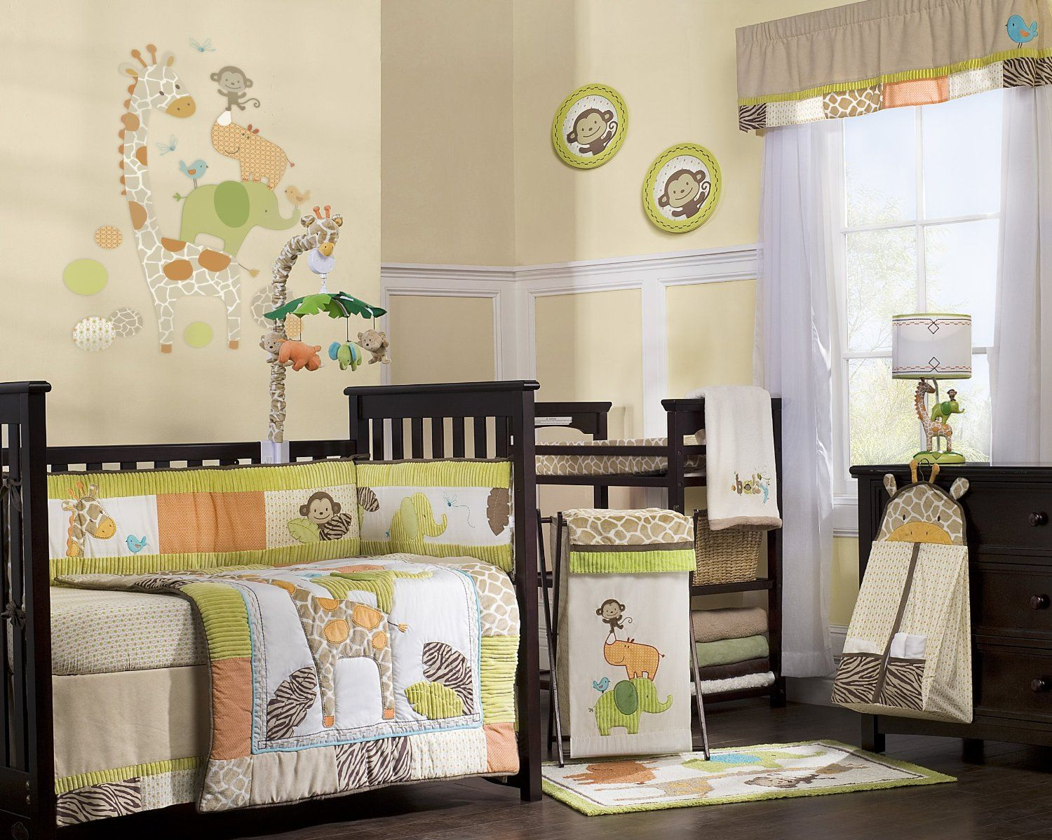 baby room ideas unisex. Amazon.com : Carter\u0027s Wildlife 4 Piece Crib Bedding Set Christmas Quilt Baby Room Ideas Unisex