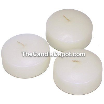 Extra Large 3 Inch Bulk Wholesale Discount Floating Candles