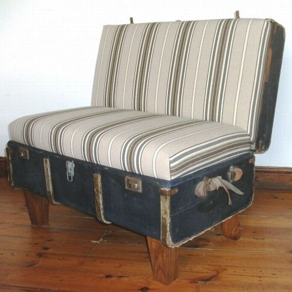 Old Suitcases Part - 40: 40 Creative Ways Of Re-Using Old Suitcases