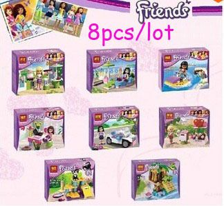 New Arrival 8pcslot Girls Friends Emmamia Cat Play Pet House