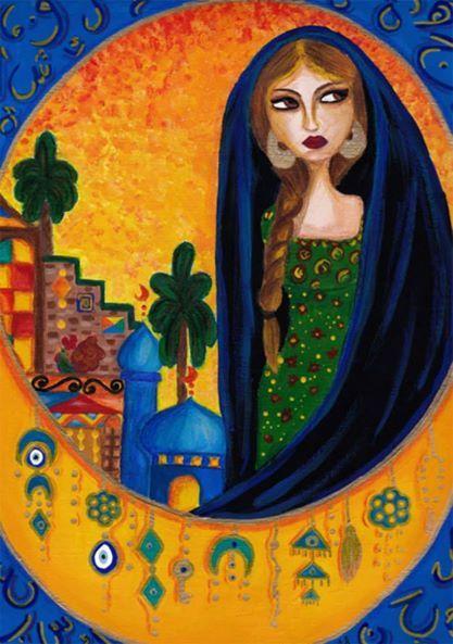 لوحات بغدادية Art Painting Egyptian Art Turkish Art