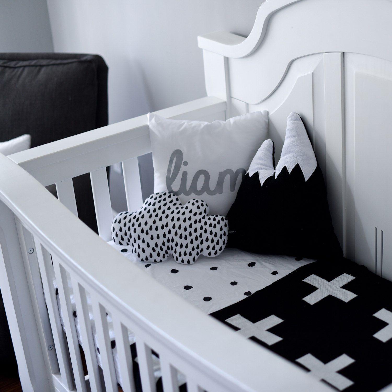 Decorative Nursery Pillow Mountain Cushion Decor For Boys Christmas Gift Kids Adventure