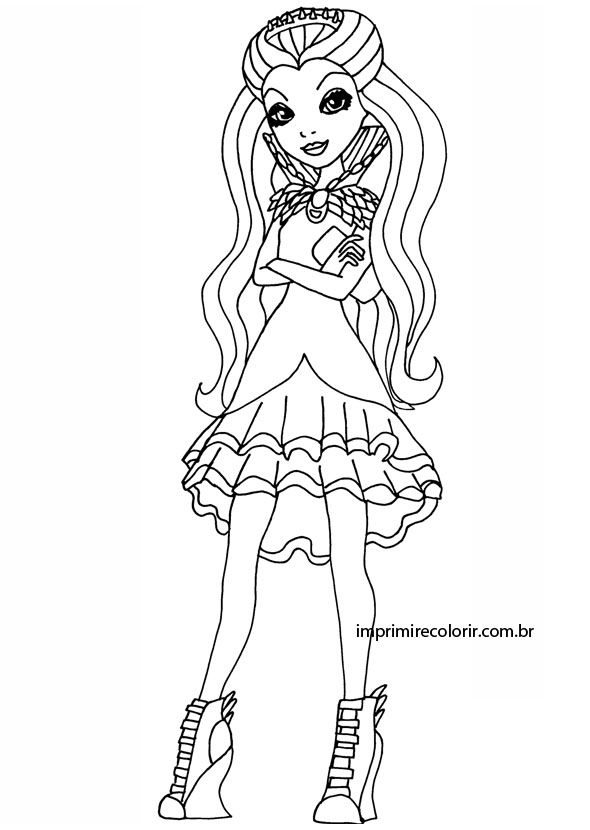 ever after high raven queen coloring page from ever after high category select from 26202 printable crafts of cartoons nature animals bible and many