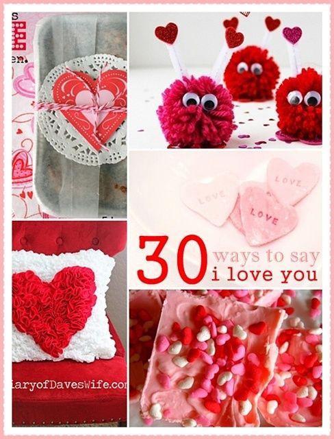 The 36th AVENUE | 30 DIY Valentine Crafts and Proj - The 36th ...