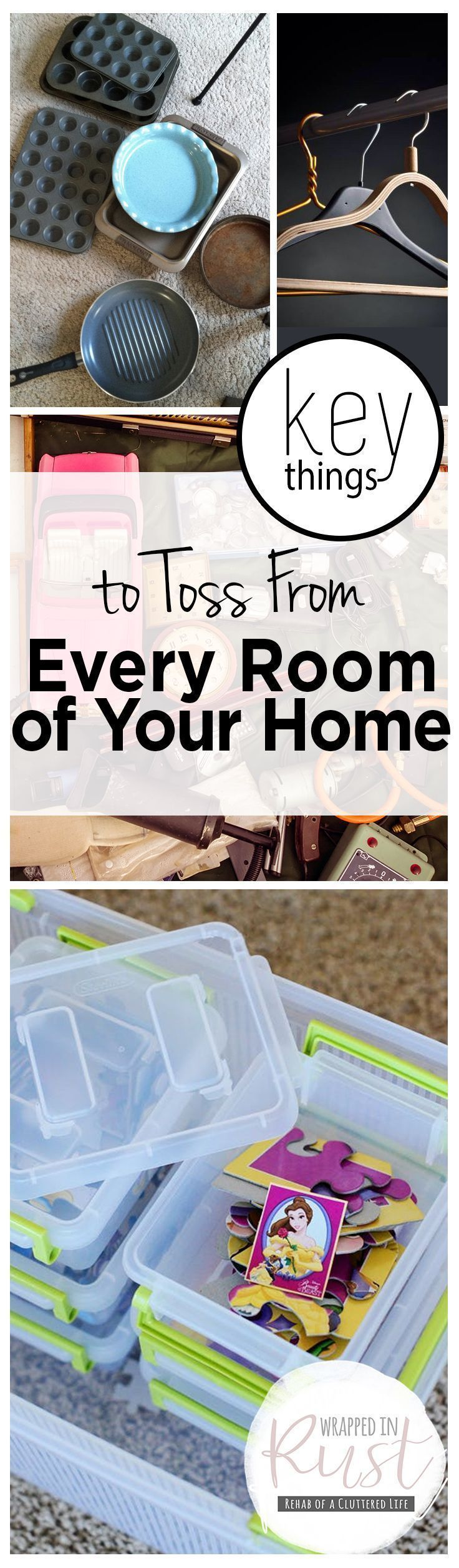 Key Things to Toss From Every Room of Your Home- Things to Get Rid of, Declutter Your Home, How to Declutter Your Home, Declutter Your Home By Getting Rid of These Items, Popular Pin #declutteryourhome #gettingridofclutter #tipstodeclutteryourhome