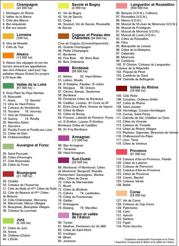 Bien connu légende de la carte des vins français | Drops from God | Pinterest  XQ34