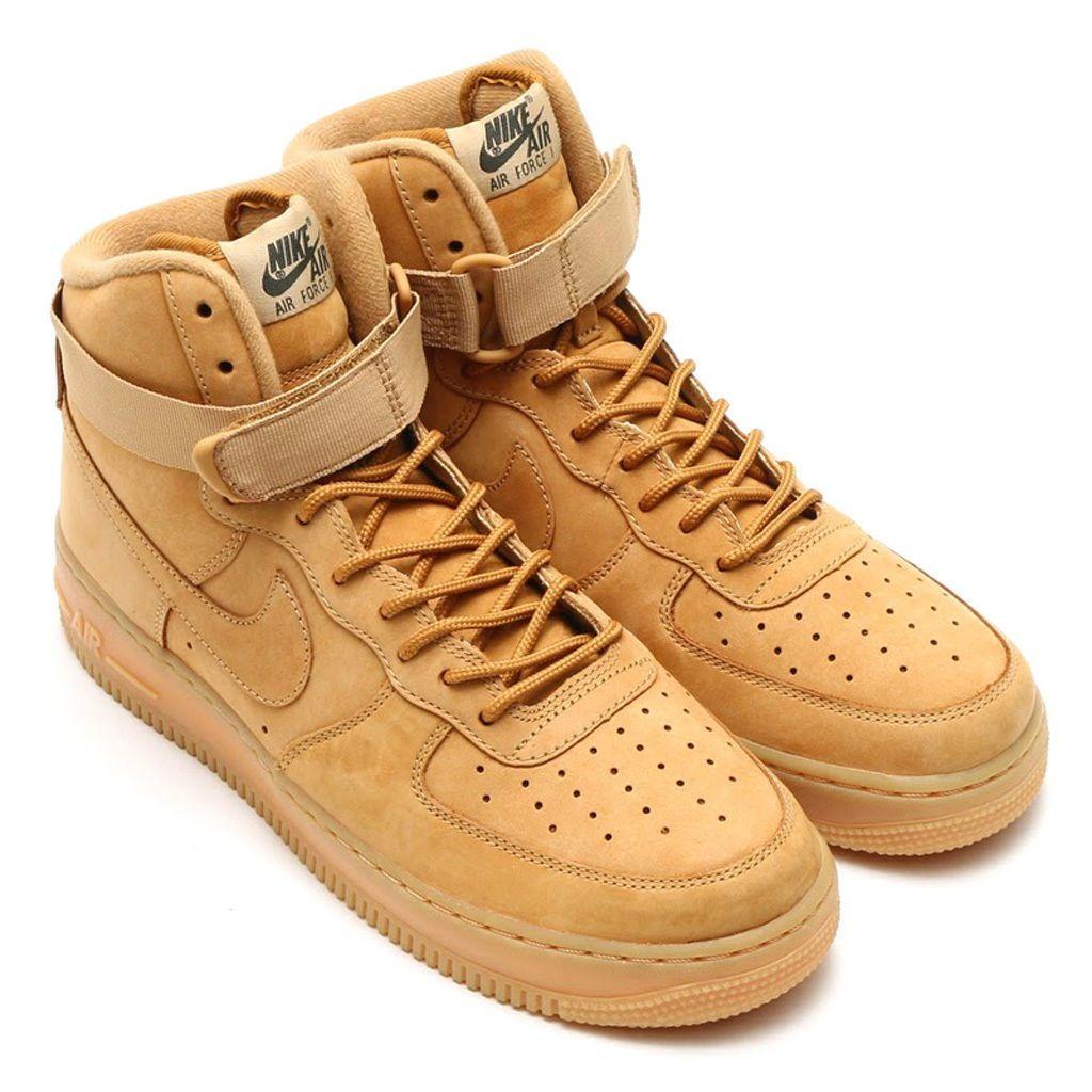Nike Air Force 1 Gum Flax Low Gum Sole Brown 07 Wb