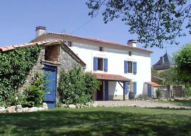 Keith Goodfellow and his wife Susan bought a traditional farmhouse in the Charente 12 years ago and have been living their dream in France ever since