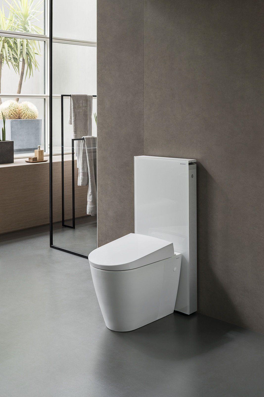 Pleasing I Water Bidet Di Geberit A Cersaie 2016 Toilet Downstairs Dailytribune Chair Design For Home Dailytribuneorg