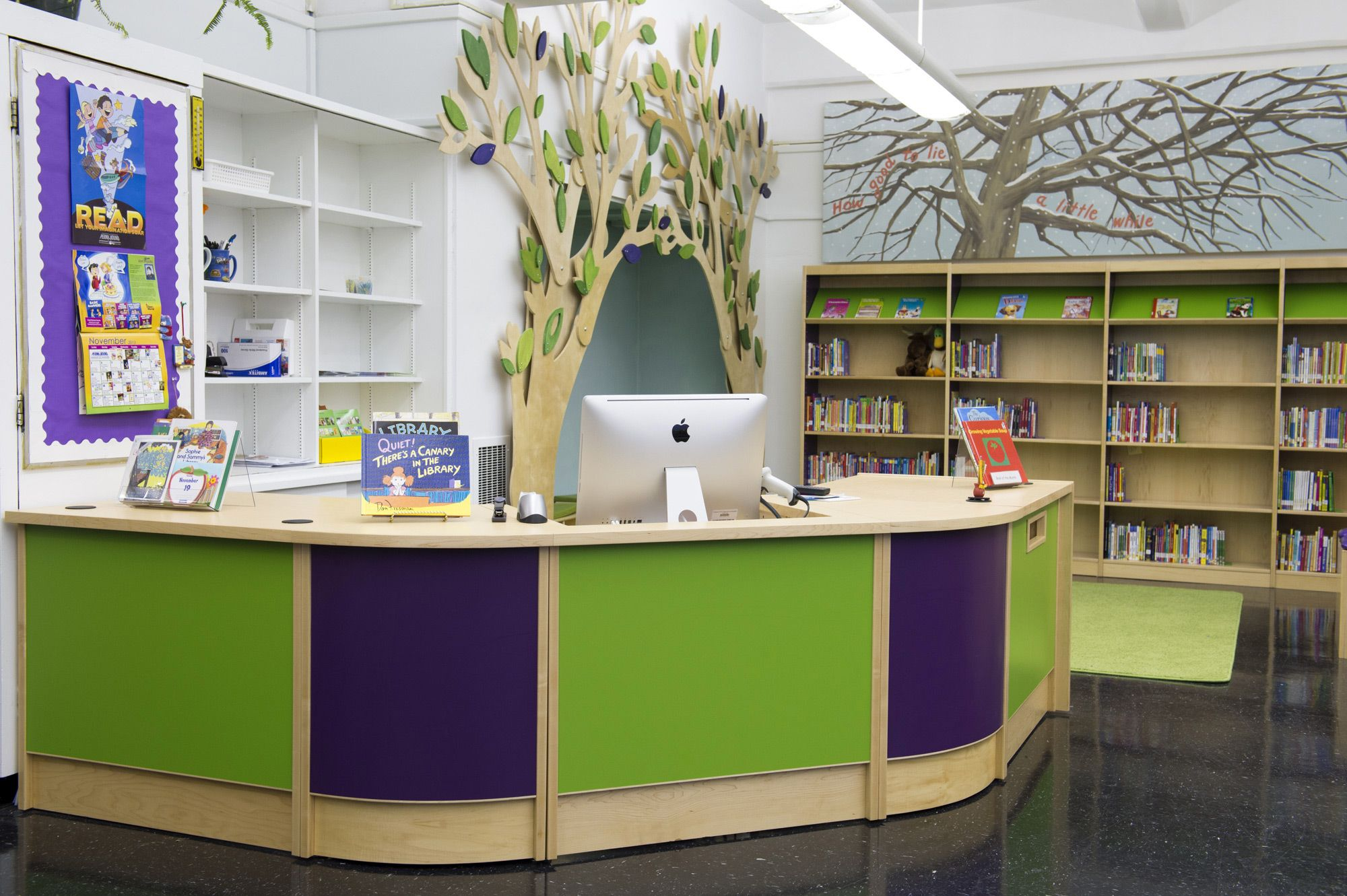 A uniquely flexible and functional collection of library furniture  the  ColorScape line can be used   School Library DesignElementary. A uniquely flexible and functional collection of library furniture