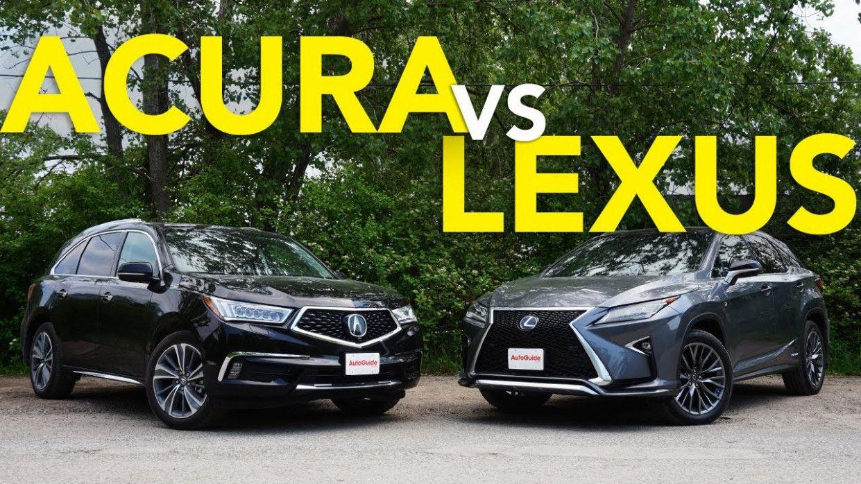 8 Image 2020 Acura Rdx Vs Lexus Nx Lexus Rx 350 Lexus Acura Mdx