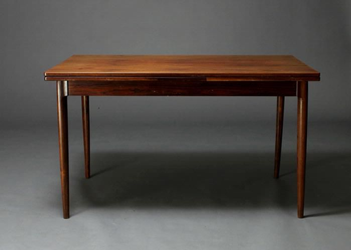 1963 Dining Table By Niels Otto Moller Vintage Danish Rosewood