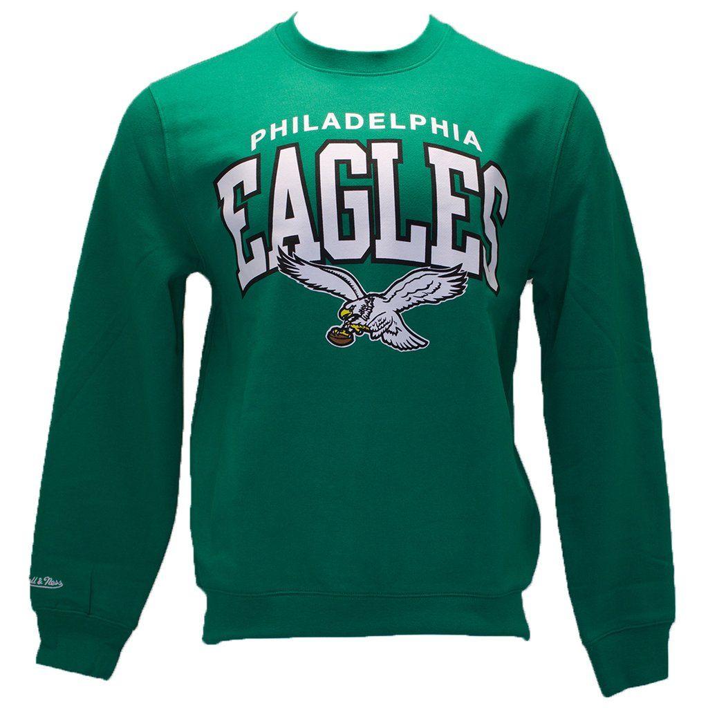 Show Love For The Philadelphia Eagles With This Retro 1987 1995 Vintage Philadelphia Eagles Kelly Green Crew Nec Green Crewneck Eagles Kelly Green Cool Hoodies [ 1024 x 1024 Pixel ]