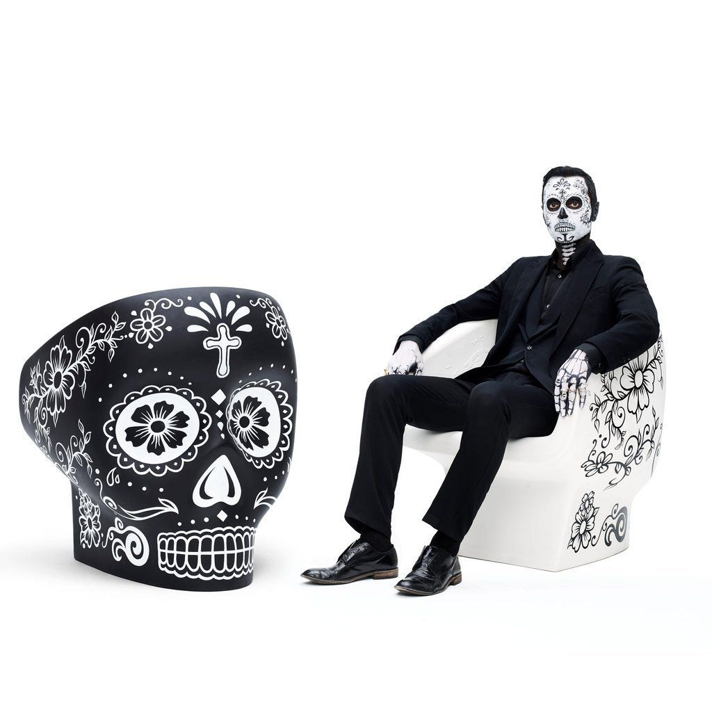 Skull Sessel Jolly Roger Calavera Is A Limited Edition Of The Jolly Roger