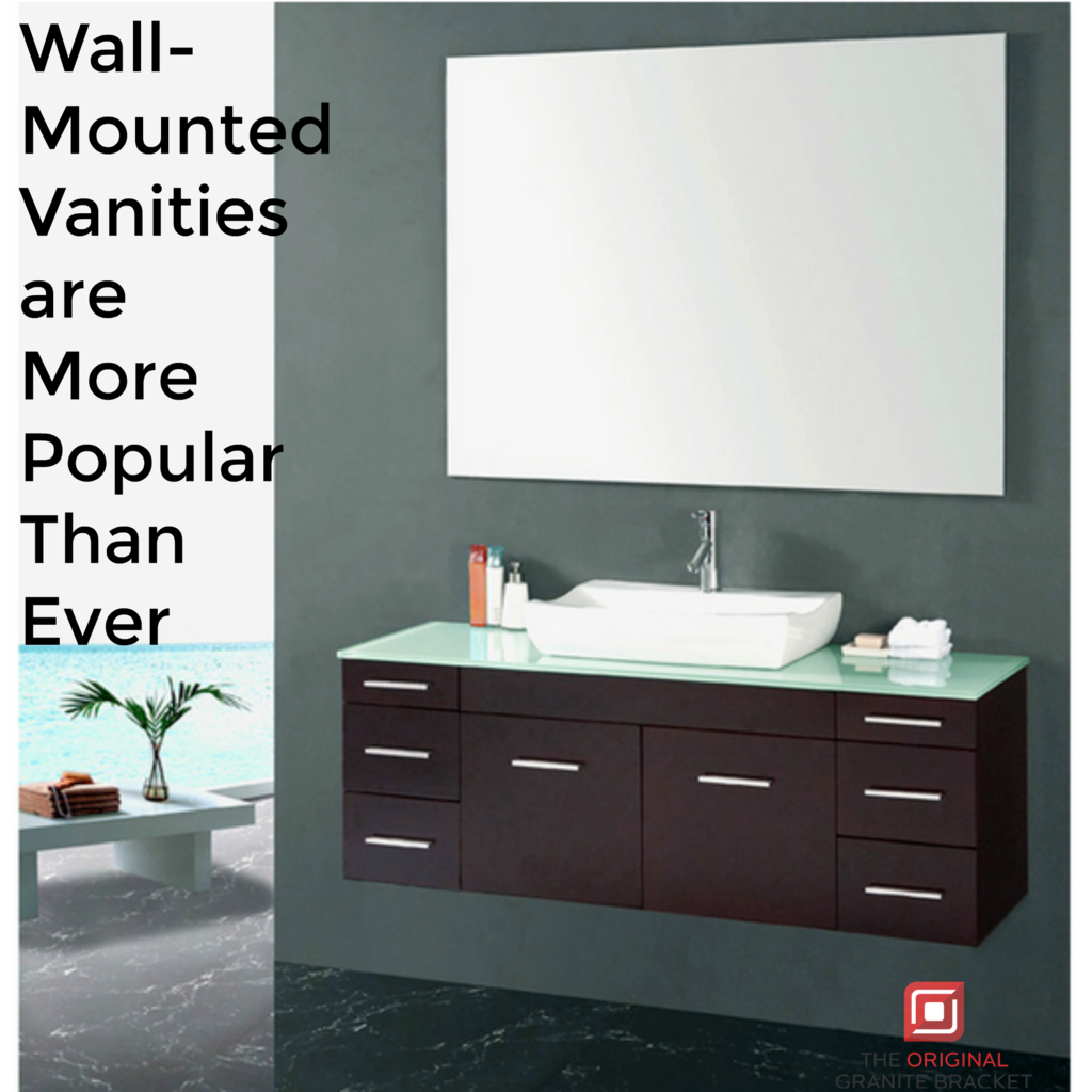 Wall Mounted Vanities Are More Popular Than Ever Wall Mounted Vanity Floating Bathroom Vanities Vanity