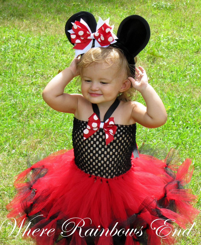 Minnie Mouse Tutu dress | Tutu's | Pinterest | Tutu dresses, Tutu ...