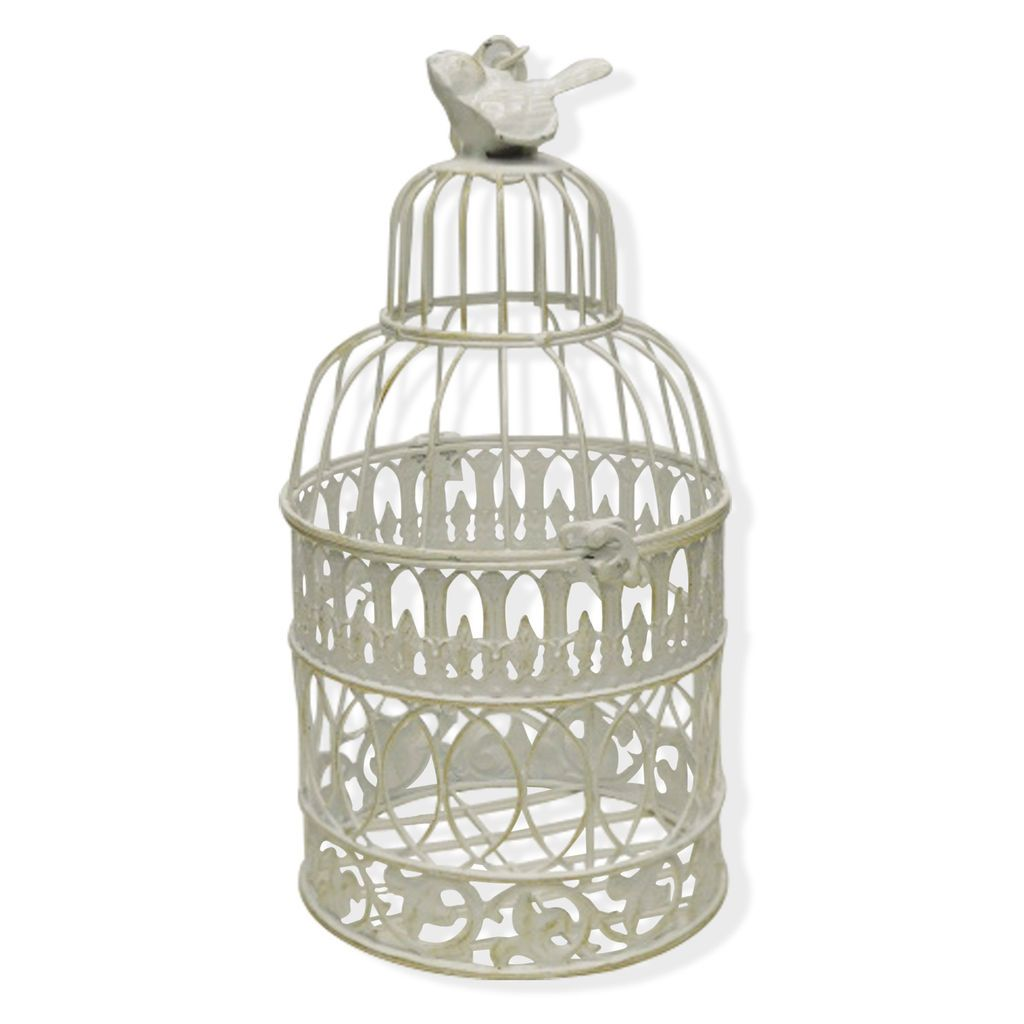 Get The Small Birdcage With Bird Topper By Ashlanda At Michaels Com