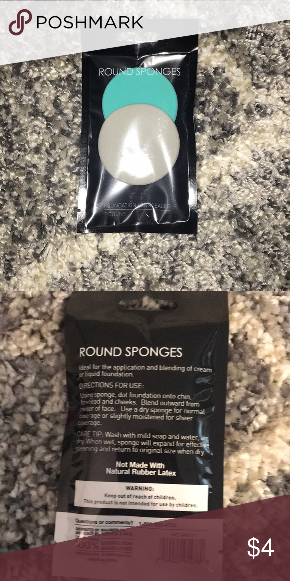 Round beauty sponges NWT Beauty sponge, Makeup tools