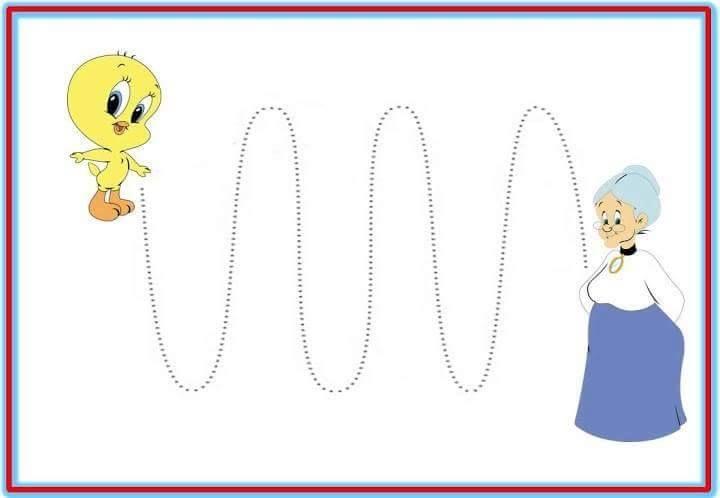 Educación Preescolar: 12 plantillas para trabajar trazos de la ...