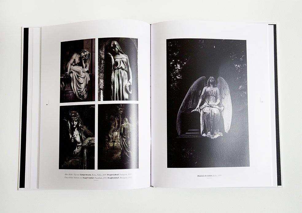 The Morbid Beauty of old Cemeteries, nearly 100 Pages full of statues, angels and scenics