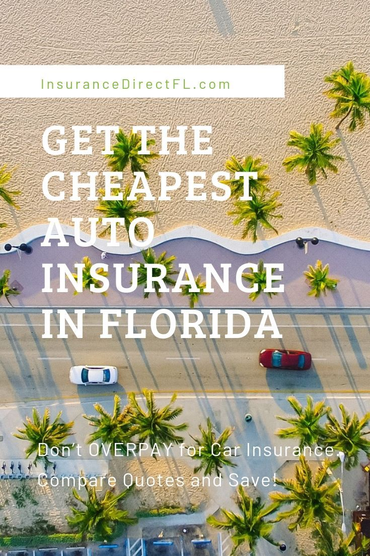 The fastest way to find cheap car insurance in Florida is