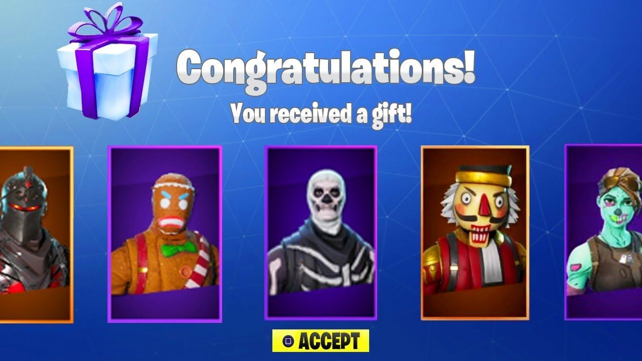 New Fortnite Update Out Now New Gifting System In Fortnite Fortnite B Fortnite Battle Give It To Me