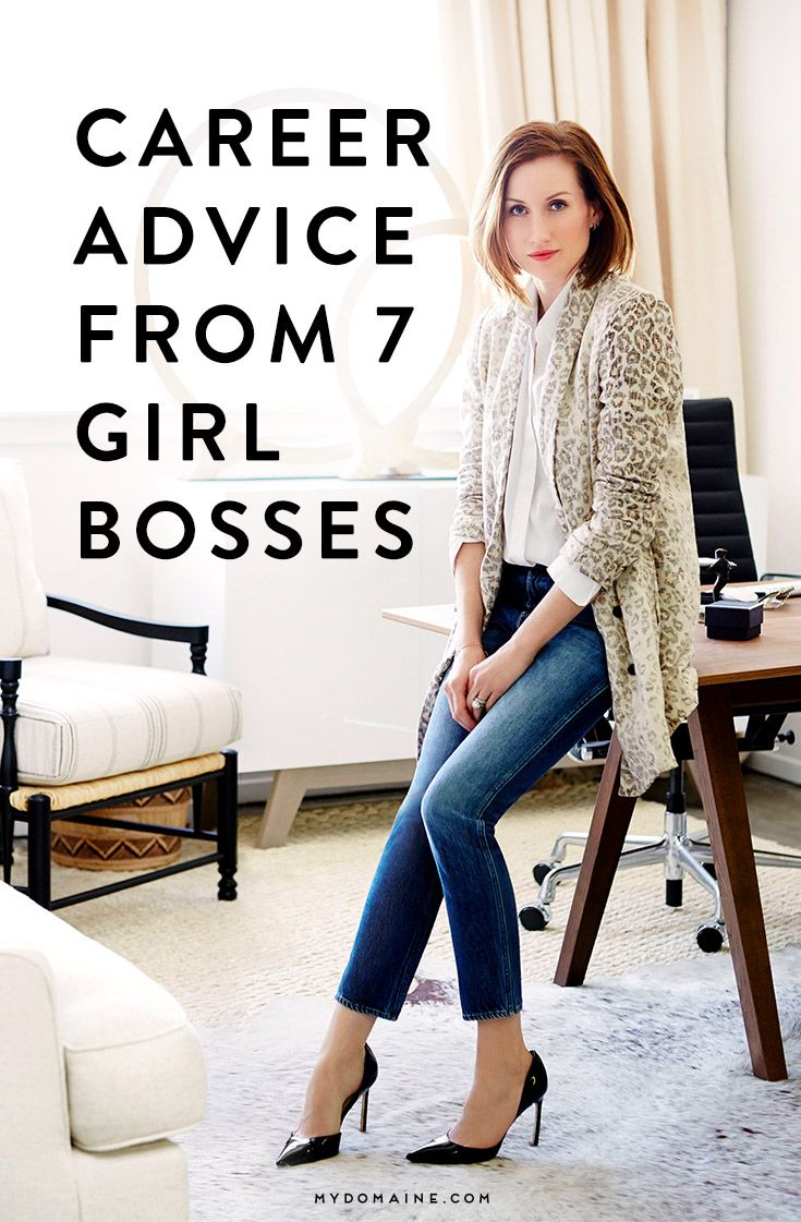 7 Lady Bosses Share Their Best Career Advice | Karriere, Berufe und ...
