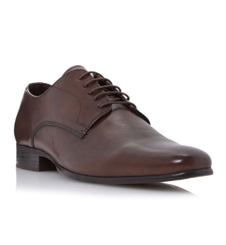 RISER High Shine Leather Derby Shoe, Gibson shoesUpper – Leather, Lining –  FabricLeatherClean with soft dry cloth Get the Howick Riser high shine  leather ...
