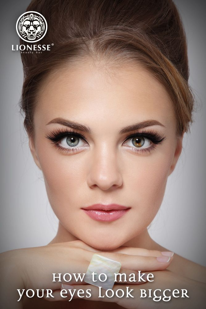 Lionesse Shows You How To Make Your Eyes Look Bigger Sweeps
