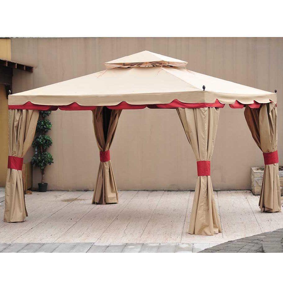Replacement Mosquito Netting For 10 W X 12 D Benen Gazebo Gazebo Outdoor Shade Screened Canopy