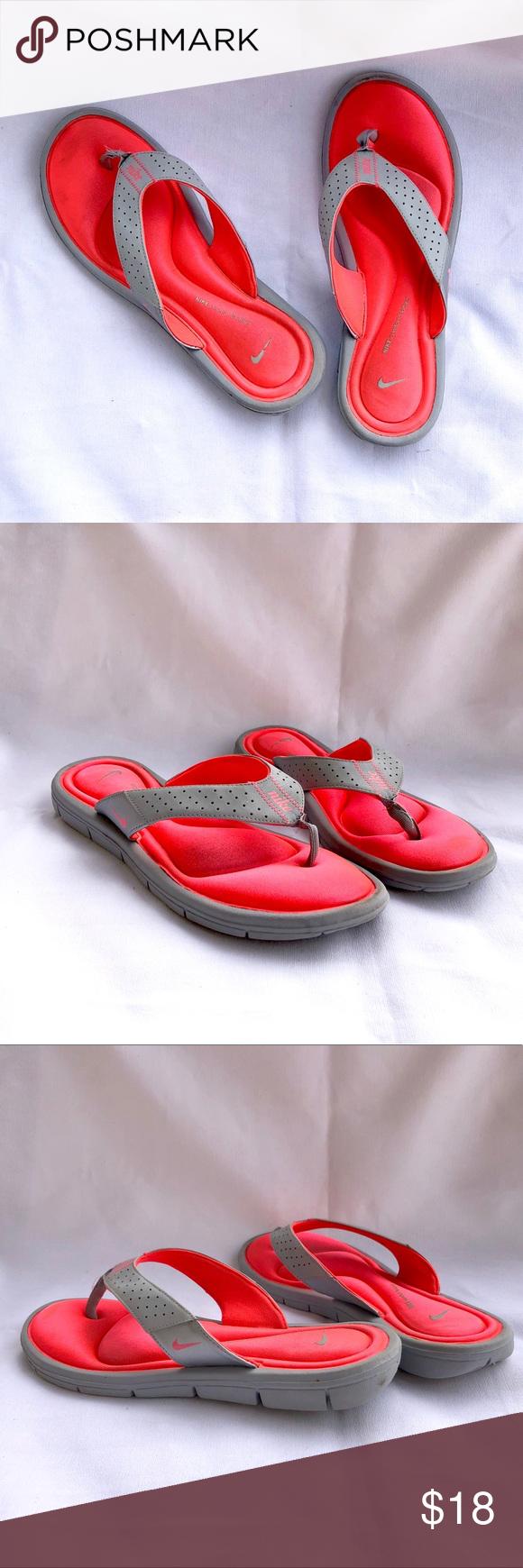 218c7237032e Women S Nike Ultra Comfort Memory Foam Flip Flops Memory Foam