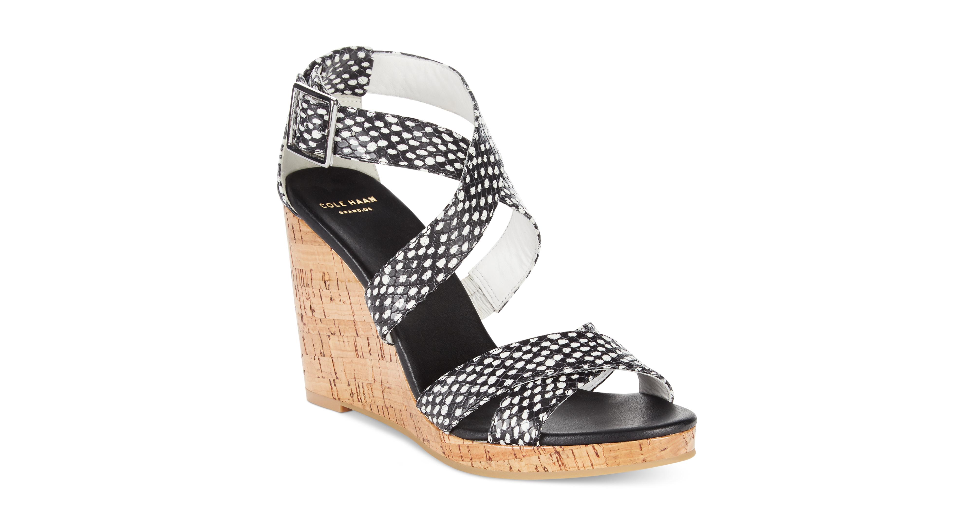 Cole Haan Women's Jillian Wedge Sandals