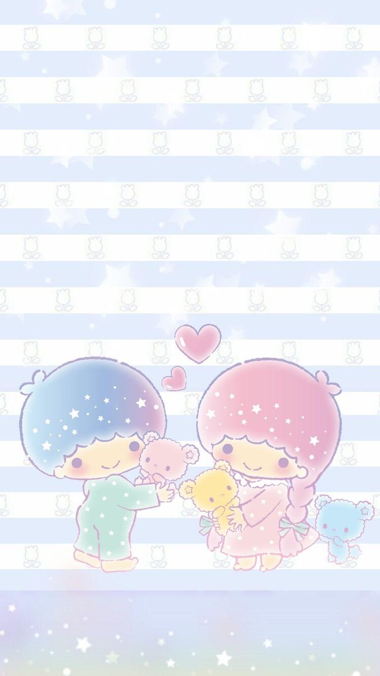 Little Twin Stars 壁紙 4k かわいいイラスト イラスト