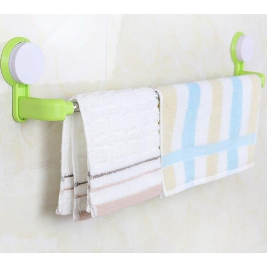 towel bar with towel. Beautiful Towel U003cSPu003etowel Rack Towel Hole Suckerfree Bathroom Intended Bar With