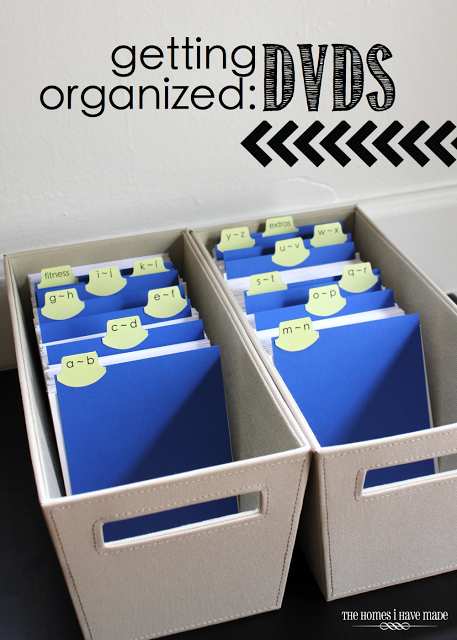 Get rid of all the boxes, and store DVDs slphabetically in media totes - so much less bulk!