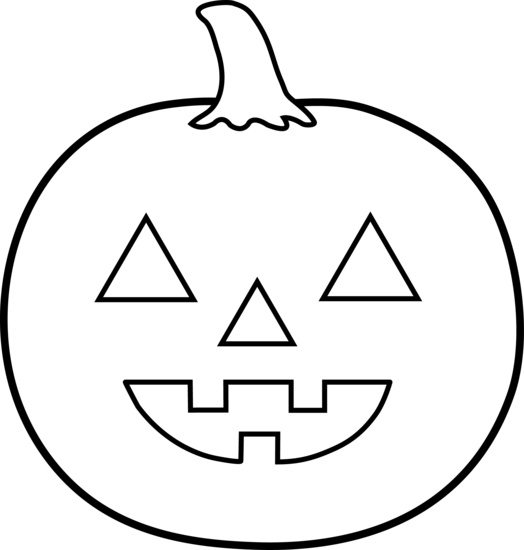 halloween jack o lantern template you can do loads of fun halloween stuff with this jack o lantern or pumkin face template color it paint it - Halloween Pumpkin Outline