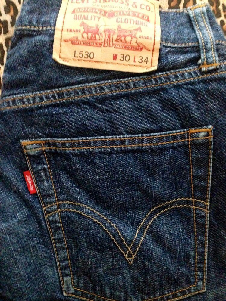 Men's LEVI'S L530 European Edition Boot Cut Jeans Size 30 x 34 ...