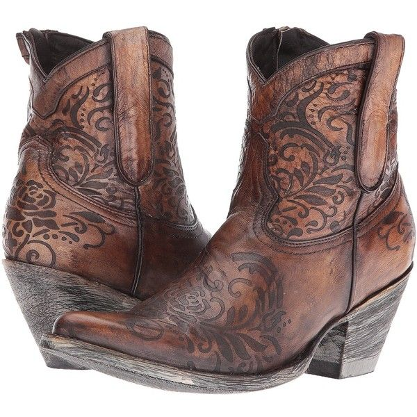 2fd901fcd00 Old Gringo Mika (Beige) Cowboy Boots ($435) ❤ liked on Polyvore ...