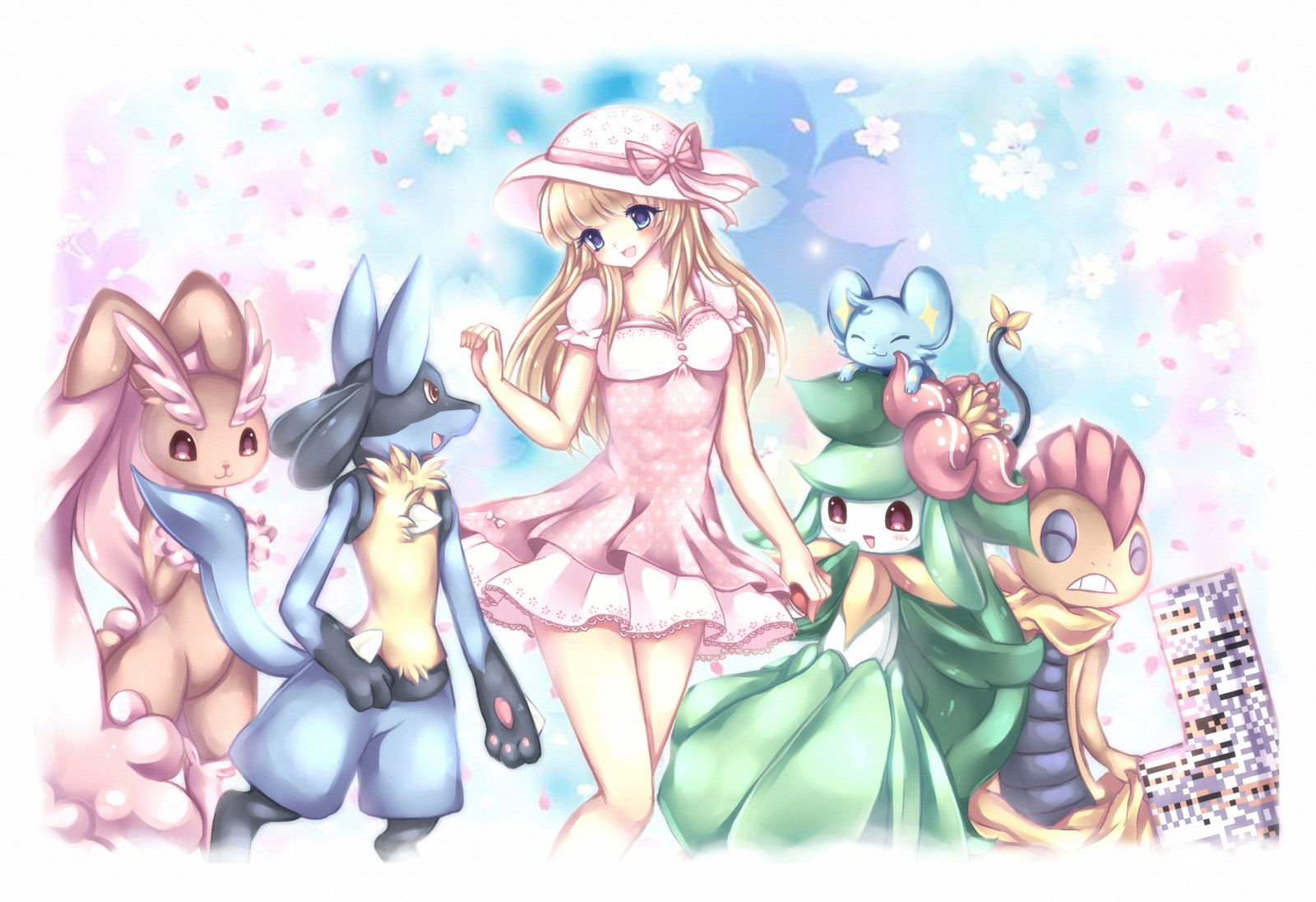+ My Pokemon Team + by Midna01.deviantart.com on @deviantART