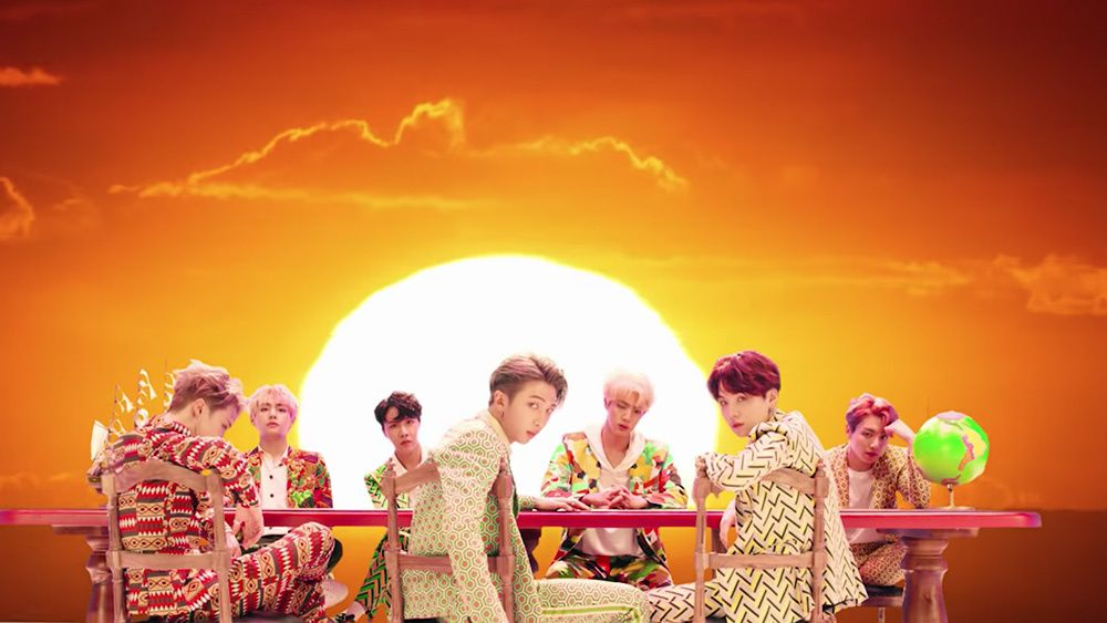 Bts Best Music Video Fashion See Their Best Looks To Date Hollywood Life Bts Idol Music Videos