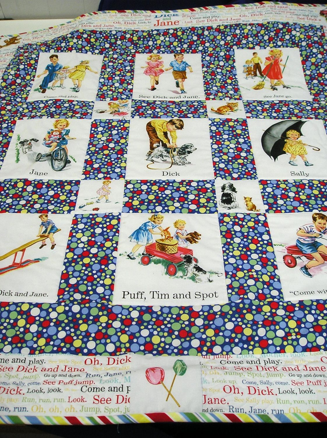 Dick and jane quilt pattern picture 556
